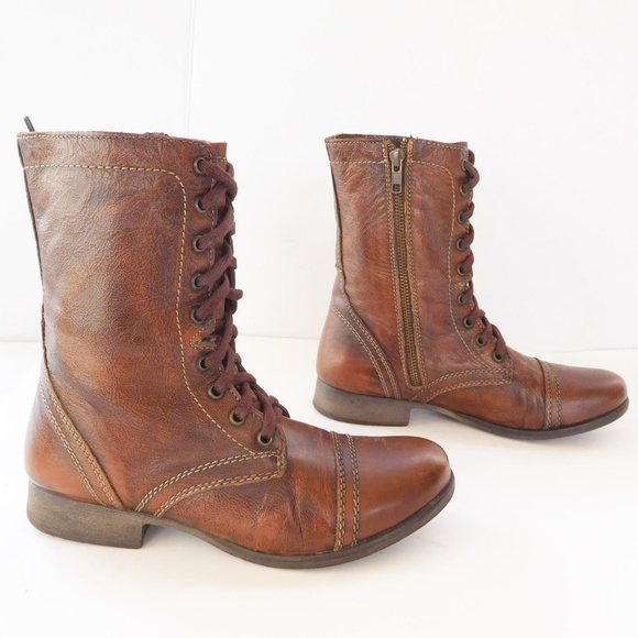 451a8df8019 Steve Madden Shoes - steve madden troopa army boots size 7